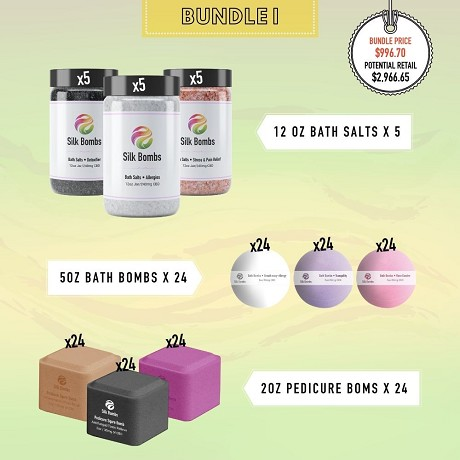 Silk Bombs  (CBD Spa Products): Product image 1