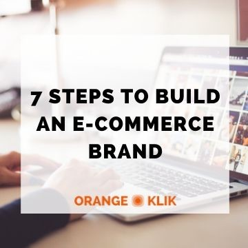 7 Steps To Build A Brand